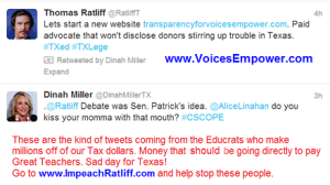 Ratliff Tweets