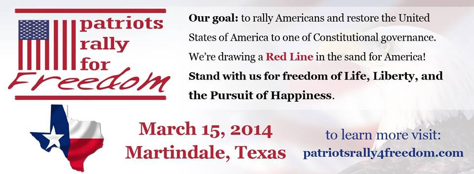 Patriots Rally for Freedom