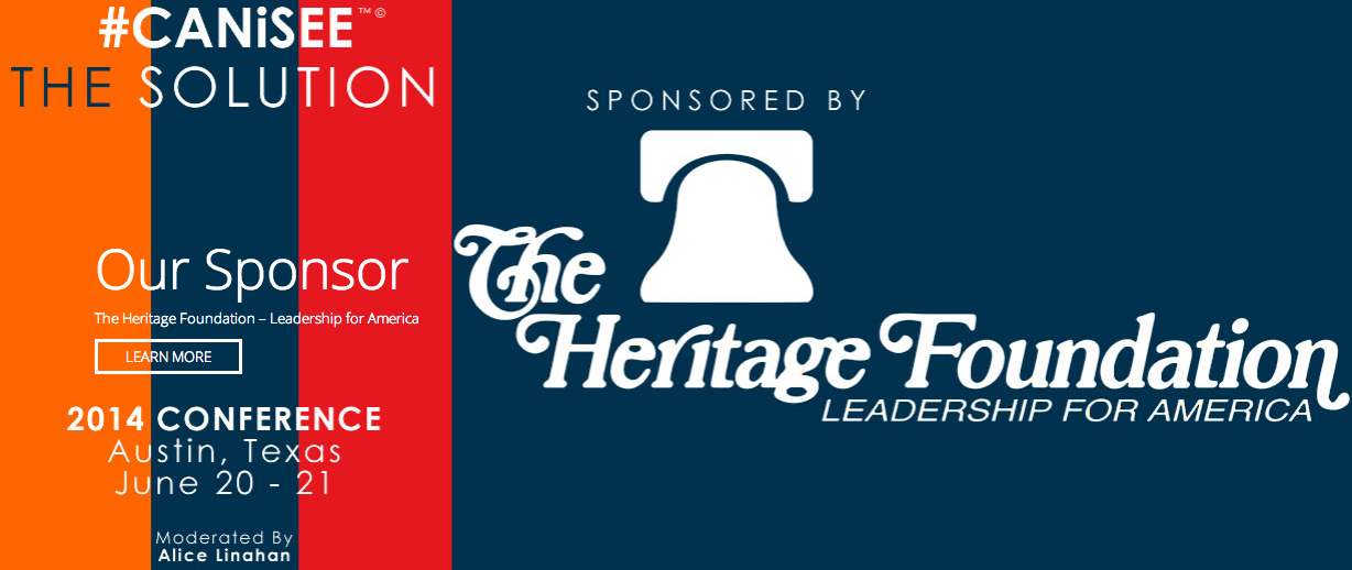 The CanISee The Solution Sponsor The Heritage Foundation