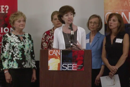 Jane Robbins; CANiSEE The Solutions Press Conference
