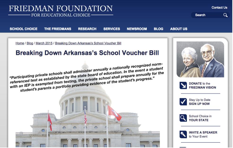 Friedman Foundation