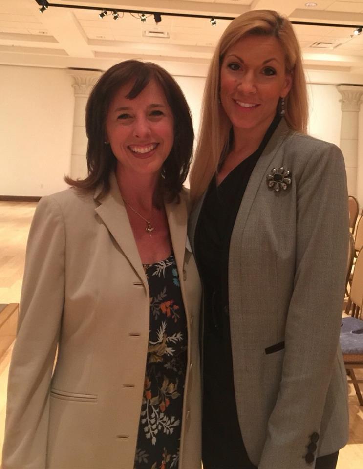 Alice Linahan and Beth Van Duyne