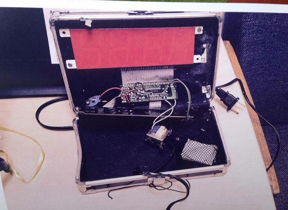 Ahmed Mohamed Clock Bomb