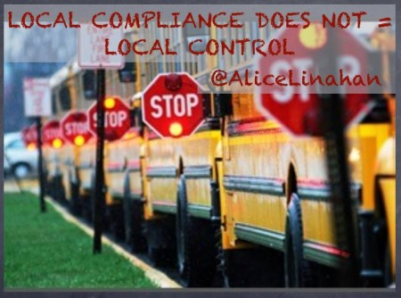Local Compliance Does NOT = LOCAL CONTROL