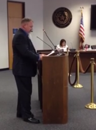 Randay Houchins testimony in front of the Texas SBOE Sept. 11th 2015