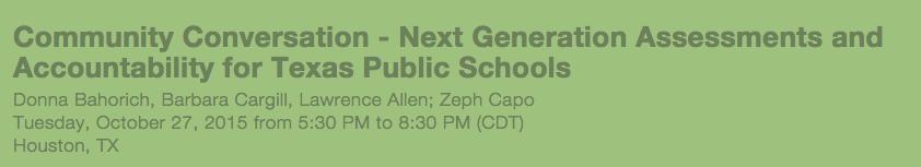 Texas Next Generation Assessments