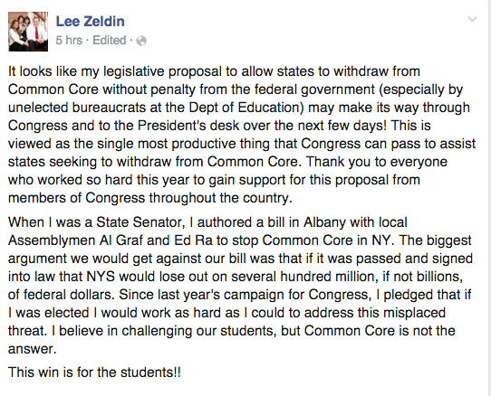 Lee Zedlin Amendment