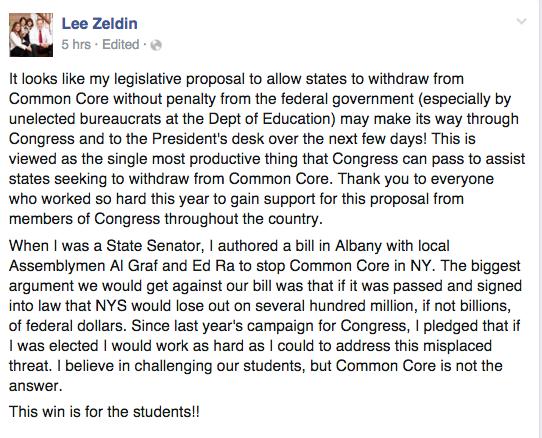 Lee Zedlin Amendment