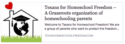 Texans For Homeschool Freedom