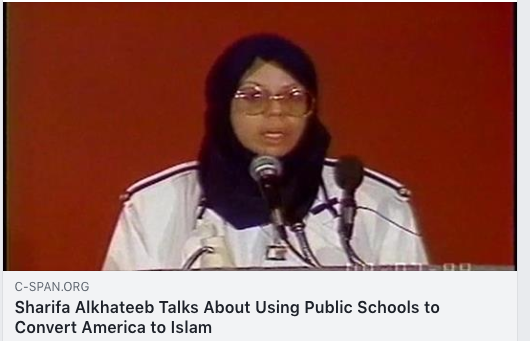 Sharifa Alkhateeb Talks About Using Public Schools to Convert America to Islam